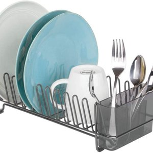 Over the Sink Kitchen Dish Drainer Rack